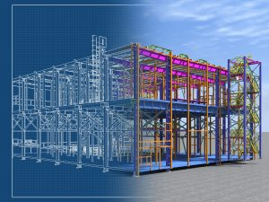 Building Information Model of Structure